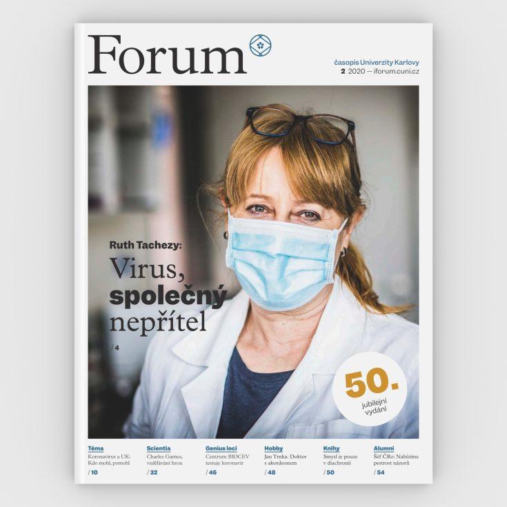 Forum CZ 50 2020 obalka 3 D