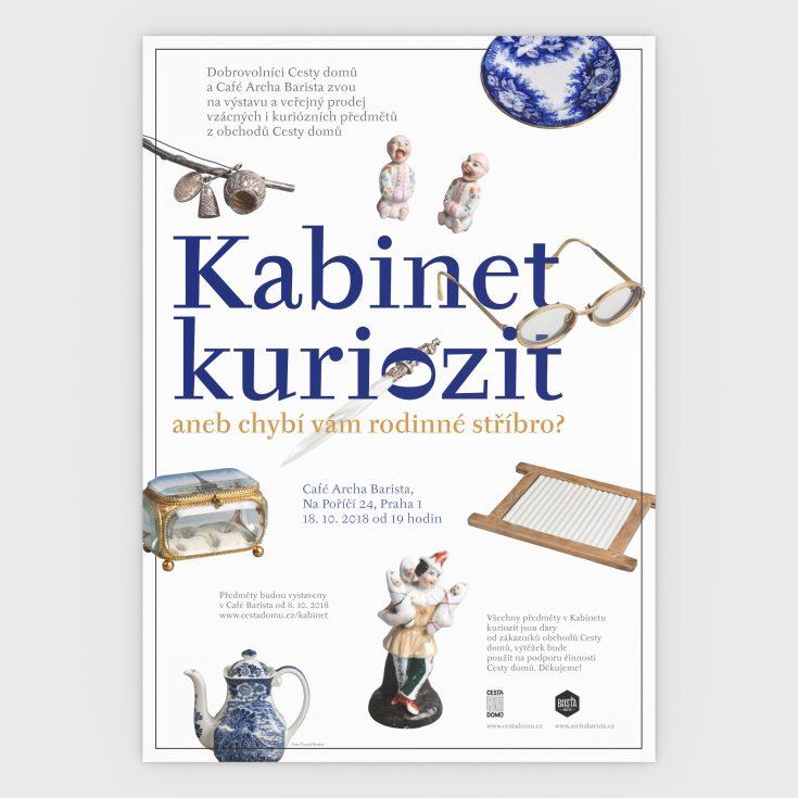 CD kabinet kuriozit poster CZ 3 D