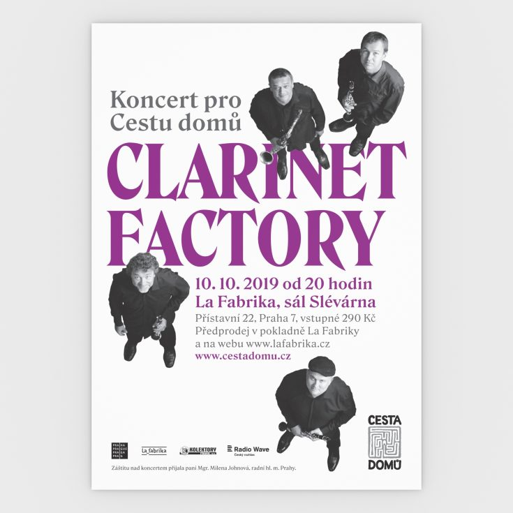 CD koncert pro CD 2019 Clarinet factory