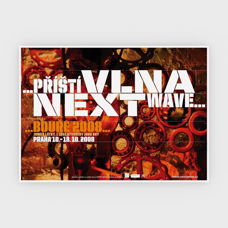 3 D plakat nextwave 2008
