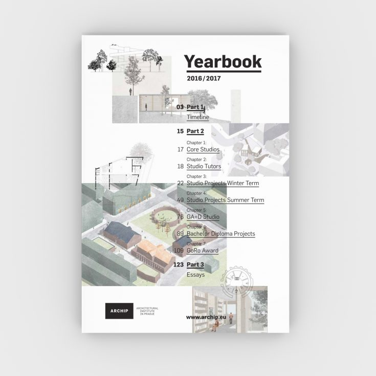 Archip yearbook 2017 obalka render I