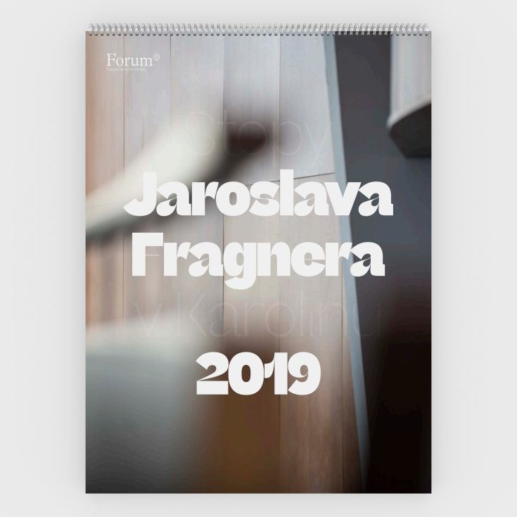 UK kalendar 2019 Fragner render titulka