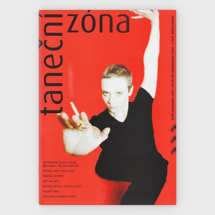 Tanecni zona A3 noviny 3 D obalka 2 2000